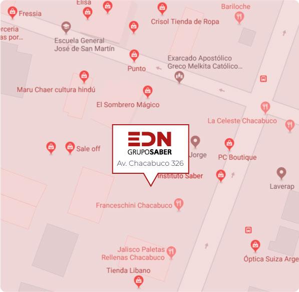 Ubicacion EDN grupo saber